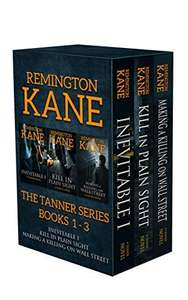 Save £5.97 Thriller Box Set - Remington Kane - The TANNER Series - Books 1-3 (Tanner Box Set) Kindle Edition  - Free Download @ Amazon