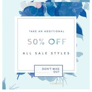Free People extra 50% off sale items