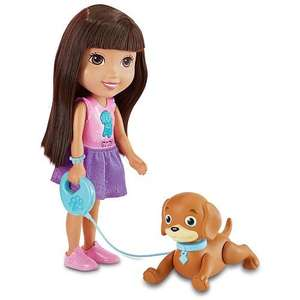 Fisherprice Dora & friends- train & play Perrito £10.49 @ argos