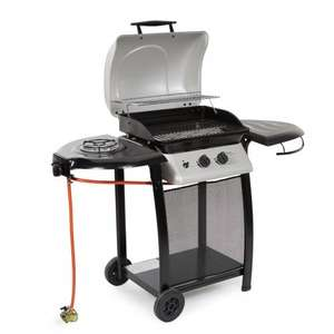 LAGUNA 2 BURNER GAS BARBECUE  NOW ONLY £57!! @ B&Q