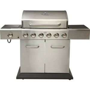 Outback Meteor 6 Burner Gas BBQ from Homebase, £299.86 + £8.95 delivery