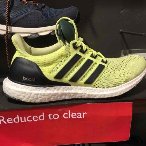 Adidas Ultraboost £39  (Women) @ John Lewis Canary Wharf.