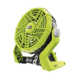Ryobi R18F One Plus Cordless Fan - Hyper Green £25.15 @ amazon