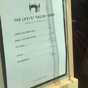 Free/Cheap Alterations at Levi's