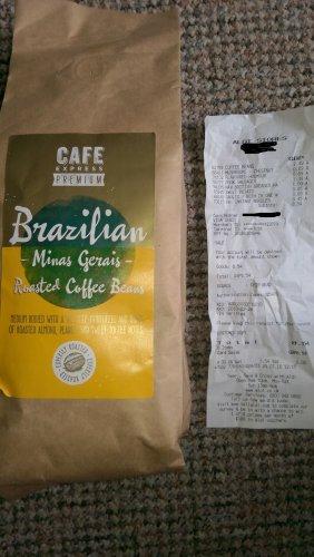 Brazilian coffee beans 454g £2.49 @ Aldi