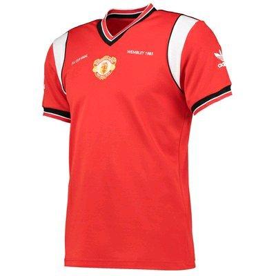 Retro Manchester United Adidas shirt 1985 £7 + £4.95 postage