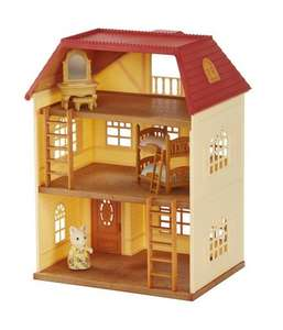 Sylvanian Families Cedar Terrace House Gift Set £25.43 @ Amazon Free Supersaver Delivery