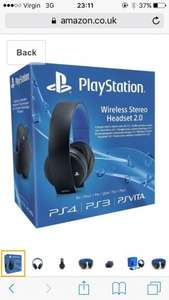 PS4 Wireless Headset £49.99 @ Game