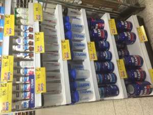 Various Usn products Home Bargains