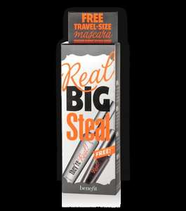 Benefit Big Steal (They're Real full size & mini mascara set), free make up bag, + 2 free samples £19.50 (£1.99 p&p for orders under £30)