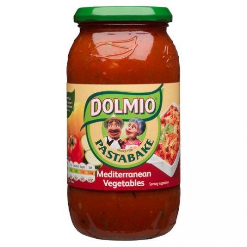 Dolmio Pasta Bake Creamy Tomato / Tomato And Cheese / Roasted Vegetable Mediterranean Sauce 500G / Carbonara 480G 87p @ Tesco