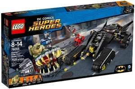 LEGO 76055 Super Heroes Batman Killer Croc Sewer Smash Construction Set £50.86 Amazon Prime (RRP £69.99)
