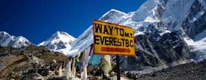 Everest Base Camp with flights, accommodation & transfers £1164.55pp via Groupon