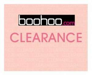 BooHoo Ebay Clearance Mens + Womens starting from £1 FREE DELIVERY!
