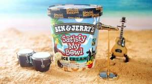 Ben & Jerry's Minter Wonderland & Satisfy My Bowl - 2 for £3 at Heron Foods