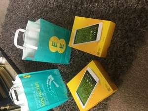 EE 10gb data £10 a month [total £240] FREE TABLET - In store @ EE