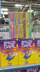 Roald Dahl Collection 15 Books Set £16.99 @ Costco