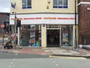 Rowlands pharmacy Clearance Store Chester