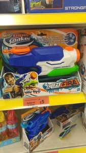 Nerf Super Soaker Freezefire water pistol £5 from £10 in Sainsburys