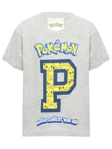 Pokémon Pikachu T-Shirt (was £8.00) Now £4.00 C&C @ M&Co