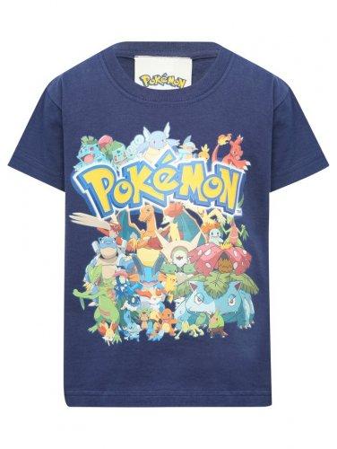 Pokémon Character Print T-Shirt (was £9.00) Now £4.00 C&C @ M&Co