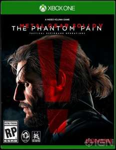 Metal Gear Solid V: Phantom Pain Xbox One Digital Download £10.92 via South Africa