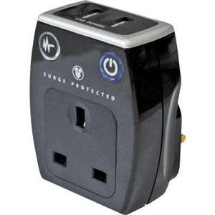 Masterplug Surge Protected USB Charging Adaptor. £7.49 Argos