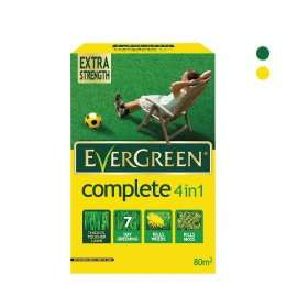 Evergreen Complete 4 In 1 Lawn Feed, Weed & Moss Killer 2.8kg £5 @ B&Q