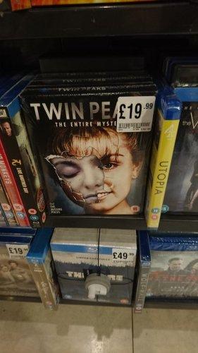 Twin Peaks Complete Mystery - BluRay - HMV instore £19.99