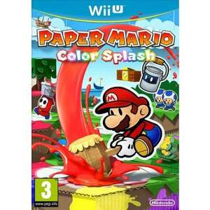 Paper Mario: Color Splash Wii U £31.11 (Using Birthday11 Code) @ The Game Collection