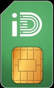 iD Mobile SIM 6GB 500m 5000t 1 month contract uswitch exclusive £12.50 via Uswitch