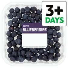 Blueberries - 50% free in store tesco £3.00 (375 G)
