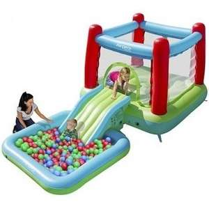Airpro Bouncy Castle with Slide & Pool (was £130) Now £85  at Tesco Direct (£2 C&C or Free Delivery using Delivery Saver)