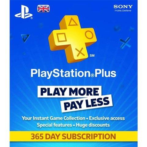 PlayStation Plus 1 Year Membership £29.99 @ Argos