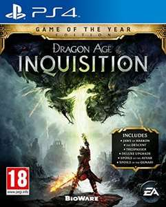 Dragon Age Inquisition Game of the Year Edition PS4 only £12.99 for PS+ members (£15.99 without) @ PSN Store