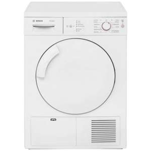 Bosch Classixx WTE84106GB Condenser Tumble Dryer in White £279 Del with code + £75 Ocado Voucher @ AO.com