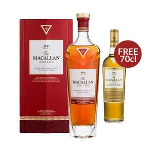 Macallan Rare Cask Whisky 70cl + Free Macallan Gold £194.84 delivered @ drinksupermarket.com