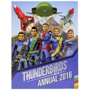 2016 Annuals (Thunderbirds, TMNT, Family guy etc) now 49p @ Argos (free click&collect)