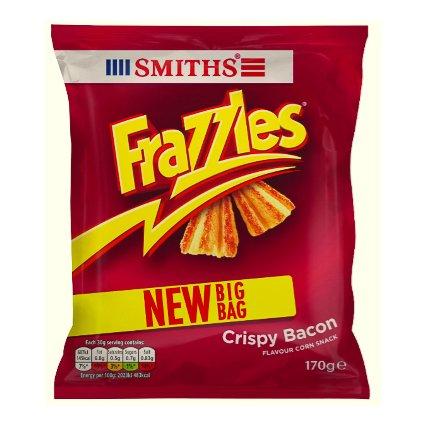 Frazzles Crispy Bacon Corn Snack (New Big Bag = 170g) ONLY 99p @ B&M