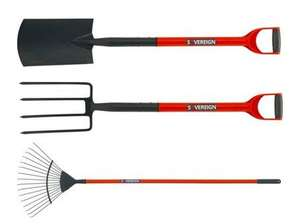 Sovereign Digging Spade, Fork, Lawn Rake now £4.99 each @ Argos (Free R&C)