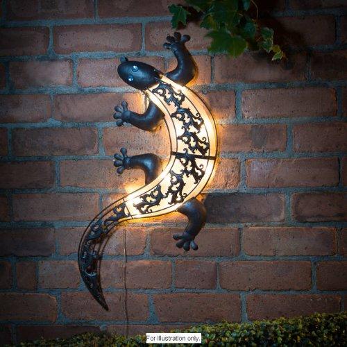 Solar LIght Gecko Wall Art £1.00 @ B&M