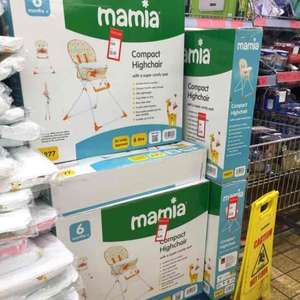 Mamia compact highchair £6.99 Aldi (Stockport)