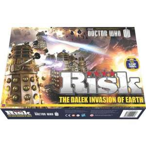 Risk - Doctor Who The Dalek Invasion of Earth Board Game £15.49 Delivered @ ForbiddenPlanet.com