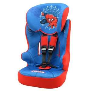 Marvel Spiderman Racer SP Group 1-2-3 Car Seat now £29.99 (+£2.99 Del - Free Del over £50) @ Kiddicare (others Car Seats Reduced in Comments)