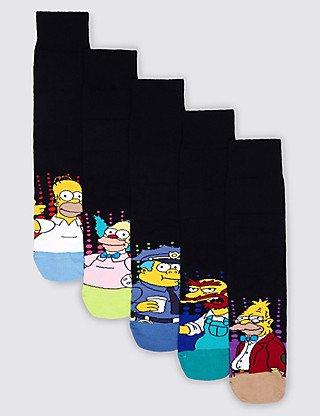 M&S  5 x simpsons socks now £1.99 M&S