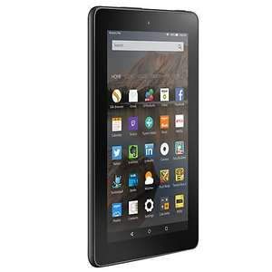 "New Amazon Fire 7 Tablet, Quad-core, Fire OS, 7"", Wi-Fi, 16GB, Magenta at John Lewis for £59.99"