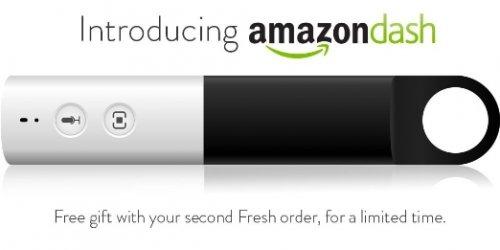 Amazon Dash - Free with Second Amazon Fresh Order