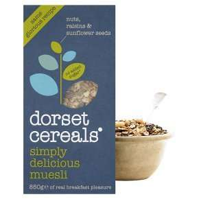 Dorset Cereals (550g to 850g) was £3.49 now £2.00 @ Waitrose