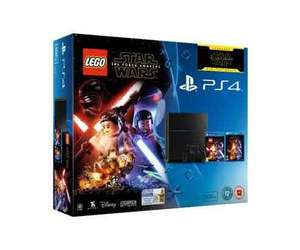 PS4 Bundle £299 Tesco Direct - free c&c , 500gb black PS4, Force awakens Blu Ray, Lego force awakens, overwatch, ratchet and clank 2016, Minecraft Story mode