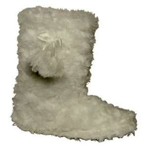 Cherokee Girls' Cream Fur Slipper Boot £1.50 @ Argos